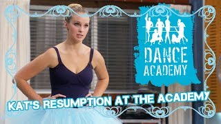 Kats resumption at the Academy | Dance Academy