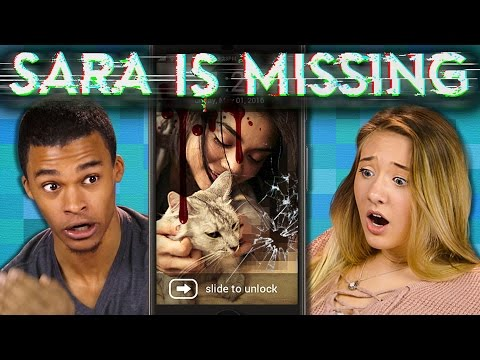 SARA IS MISSING S.I.M.   Creepy Horror Game (Teens React: Gaming)
