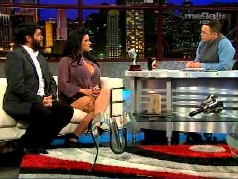 Alexis Valdes entrevista a Angelina Castro y Personaje de Presidente de Iran 1 16 11