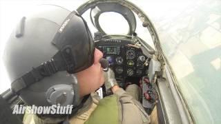 RideAlong! Jeff Kaney Mig-17 Cockpit Cam - Rockford AirFest 2014