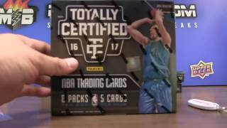 6/26 - 2016-17 NBA Totally Certified 8 Box Case Break Random Team