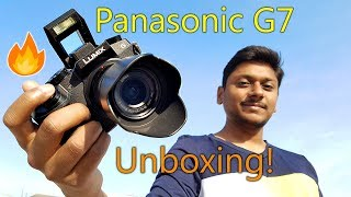 Panasonic G7 Cheapest 4K Mirrorless Camera Unboxing & Overview!