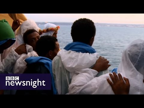 Xxx Mp4 Escape To Europe The Migrants 39 Story BBC Newsnight 3gp Sex