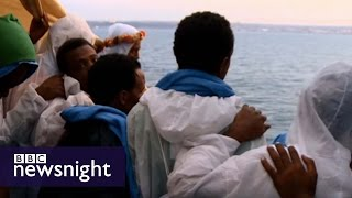 Escape to Europe: The migrants