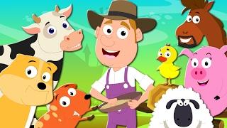 Old Macdonald Had A Farm   Nursery  Rhymes   Kids Songs   Baby Rhymes   Farm Song