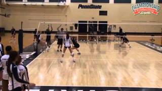 "Learn Russ Rose's ""15 Point Game"" Drill! - Volleyball 2015 #20"