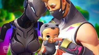 LYNX AND DRIFT HAVE A BABY! *SEASON 7* - A Fortnite Short Film