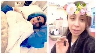 ابرار الكويتية تهنأ دكتورة خلود على ولادتها ! شاهد