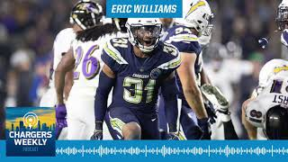 Chargers Weekly Podcast - Eric Williams