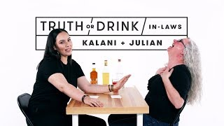 In-Laws Play Truth or Drink (Kalani & Julian)   Truth or Drink   Cut