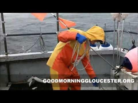 Lobstering In Rough Seas Aboard The Degelyse