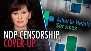 """Alberta Health Services go """"offline"""" after questions about blocked Rebel website"""