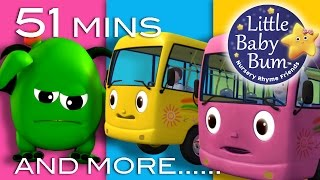 Nursery Rhymes Collection | Volume 4 | 51 Minutes Compilation from LittleBabyBum!