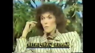Karen Carpenter at her Anorexic Worst Anorexia Nervosa Part 2