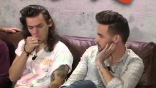 Gwen Garcia One Direction interview