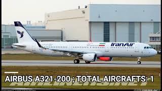 Iran Air fleet as of November 2017