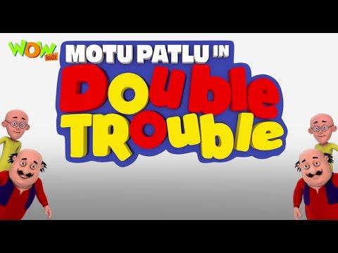 Motu Patlu In Double Trouble - Movie - ENGLISH, SPANISH & FRENCH SUBTITLES!