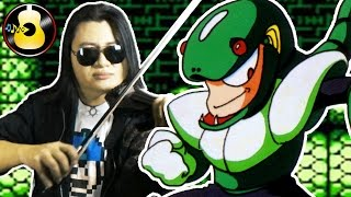 Mega Man 3 - Snake Man Theme (Violin Rock Cover/Remix) || String Player Gamer