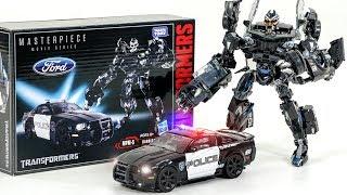 Transformers MasterPiece Movie Series MPM-5 Decepticon Barricade Police Car Vehicle Car Robot Toy