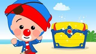 Treasure hunt - Plim Plim | Animated Series | The Children