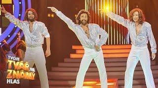 Roman Vojtek jako Bee Gees -