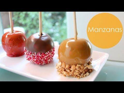Manzanas Acarameladas Chocolate Caramelo