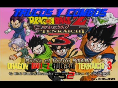 Trucos y combos Dragon Ball Z Budokai Tenkaichi 3 Ps2