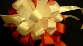 Beautiful Ribbon Bow Gift Tutorial