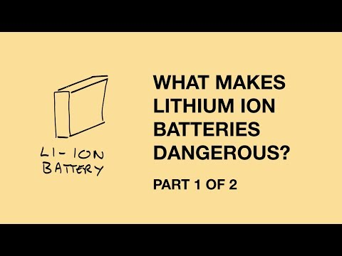 Lithium ion battery risks part 1