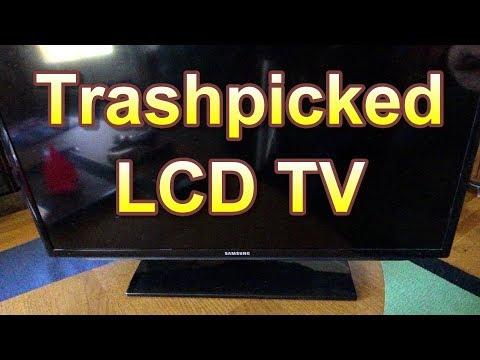 Trashpicked Samsung LCD TV Repair