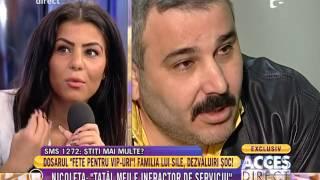 Nicoleta, fiica lui Sile Cămătaru: