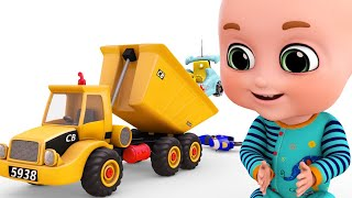 Surprise Eggs - Construction Truck for children New Set - Dump Truck - Surprise Eggs form Jugnu Kids