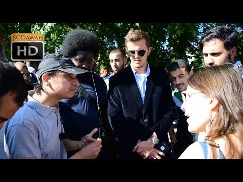 Xxx Mp4 P1 Whats Gods Name Mansur Vs Christian Lady Speakers Corner Hyde Park 3gp Sex