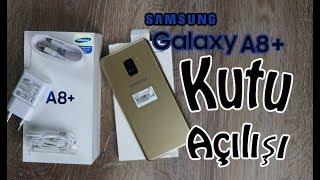 Samsung Galaxy A8 Plus 2018 Kutu Açılışı