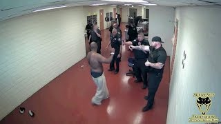 One Angry Inmate vs A Dozen Cook County Officers | Active Self Protection