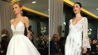 Justin Alexander Bridal Spring 2018 Collection | New York Bridal Fashion Week 2017