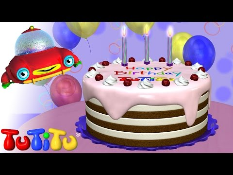 TuTiTu Toys Happy Birthday Cake