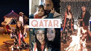 5 YOUTUBER ÇÖLDE EĞLENCELİ HURMA PARTİSİ | Katar'ın Başkenti Doha Vlog qatar