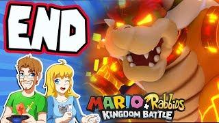 Mario + Rabbids Kingdom Battle - Walkthrough Part 37 FINAL BOSS (World 4-9)