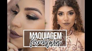 MAQUIAGEM COMPLETA DE FORMATURA | Jessica Melo