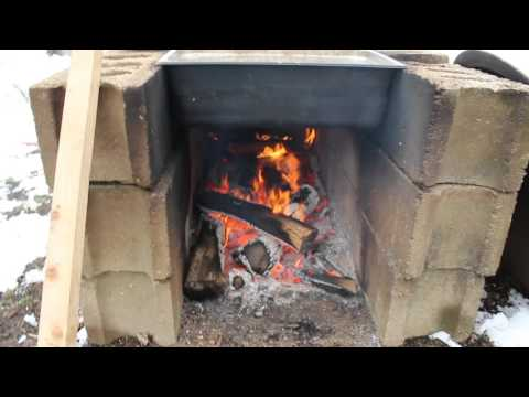 The Cinder Block Arch, Hot and Boiling Sap