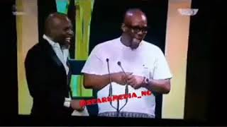 Charles Inojie's funny skit at the AMVCA 2018 (na dem dey rush us)