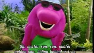 Barney Mister Sun Song [Best Original HQ]