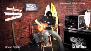 Ernie Ball Music Man - MM90 Model - Demo by Dario Cortese