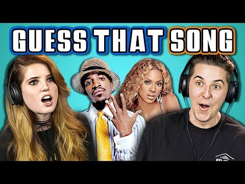 COLLEGE KIDS GUESS THAT SONG CHALLENGE 2000s Songs ft. ECHOSMITH REACT