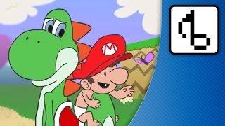 Baby Mario & Papa Yoshi - brentalfloss