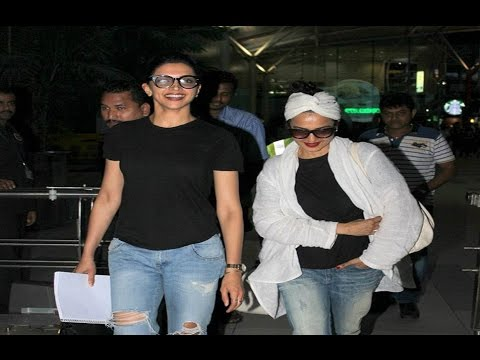 Xxx Mp4 Deepika Padukone And Rekha Spotted Together At Airport 3gp Sex
