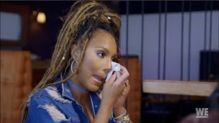 Tamar Braxton cries about her miscarriage | Braxton Family Values Review