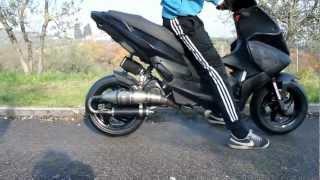 -Black Pearl- Gilera Runner SP 50@180 con MDM TEST (1080p HD)