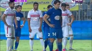 """اهداف مباراة  """" الزمالك vs  إتحاد الشرطة """" 2 / 1  ...... كأس مصر (عبور لاند ) 2016 / 2015"""